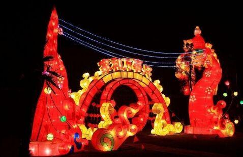 2015合肥欢乐岛灯会时间,门票,2015合肥欢乐岛恐龙灯会地址