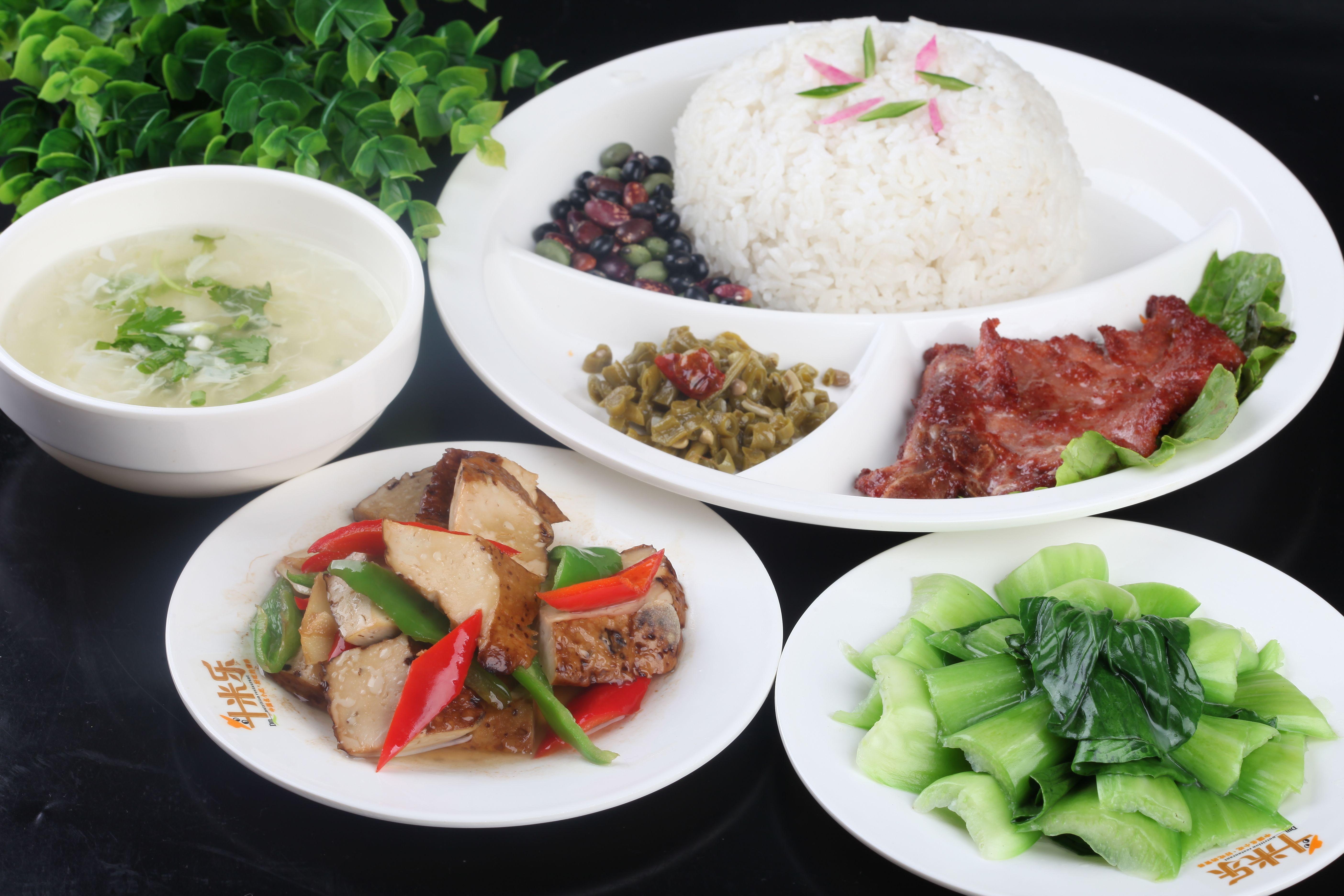 中式快餐菜品图片