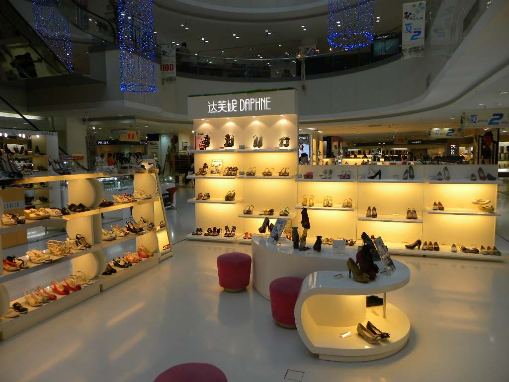 40平米小型鞋店装修图