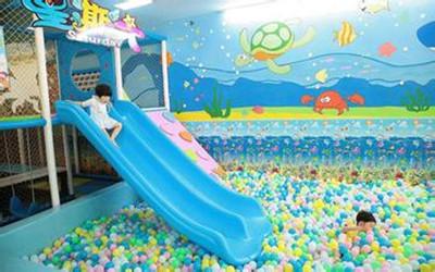 星期六儿童乐园是非常现代化的儿童乐园