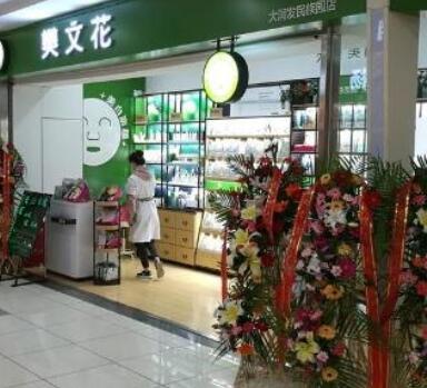 开家樊文花化妆品实体店总共要多少钱
