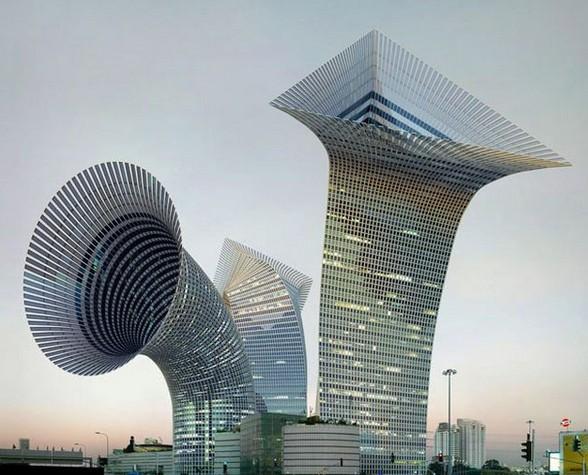 重庆 桶装方便面楼 引热议 盘点各地奇形怪状建筑图片