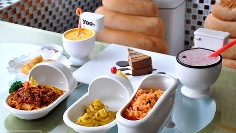 便所主题餐厅_便所主题餐厅的菜单_北京便所主题餐厅