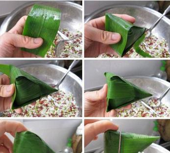 2014最新小脚粽子的包法