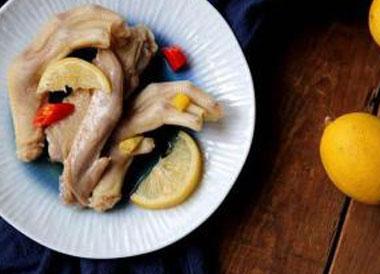 柠香泡椒鸭翅好吃吗?柠香泡椒鸭翅怎么做?