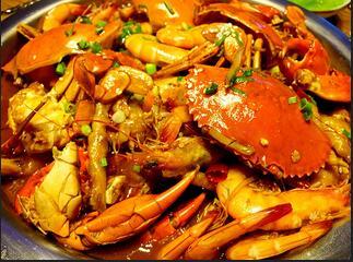 巴比酷肉蟹煲怎么样
