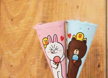 迷你可爱多line合作款冰淇淋多少钱?
