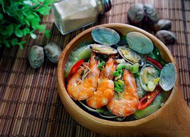花甲丝瓜汤怎么做好吃?花甲丝瓜汤的做法