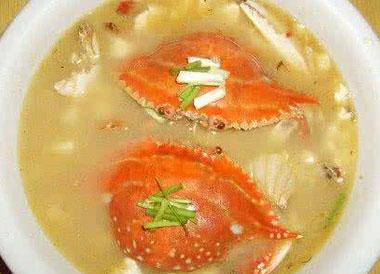 梭子蟹不能和什么一起吃?梭子蟹什么部位不能吃?