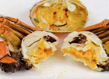 蟹黄里面白色的是什么?蟹黄里面白色的能不能吃?