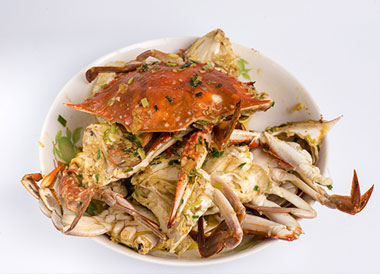 菜蟹怎么做好吃