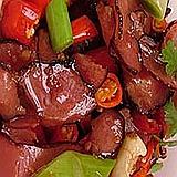 红椒腊牛肉好吃到爆