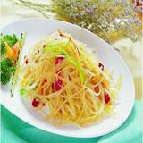 土豆丝怎么做好吃?中餐厅张亮泡椒土豆丝做法