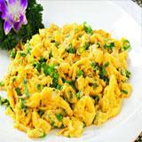 中餐厅大葱炒鸡蛋怎么做?中餐厅海蛎煎蛋的做法