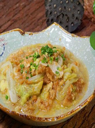 蛋香焖白菜怎么做好吃?