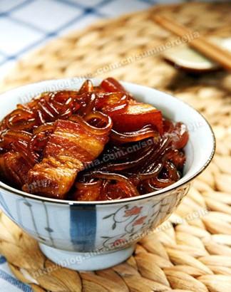 猪肉炖粉条-做正宗的东北菜
