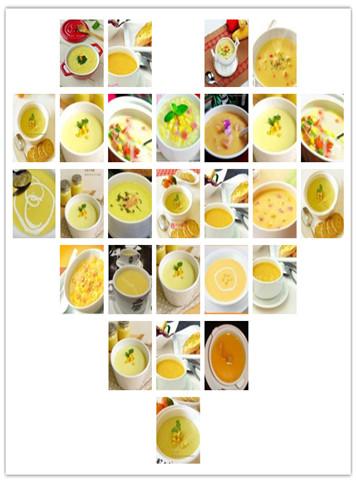 好味道好身材-玉米浓汤的做法