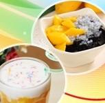 """""""甜品时间""""甜品店与恋人相拥冬季"""
