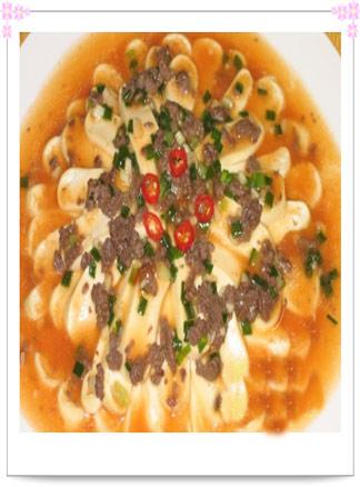 春季食疗美食精品之菊花豆腐