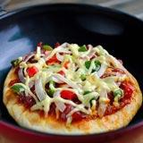 意大利特色菜 脆底香肠披萨的做法