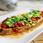 春季食疗美食精品系列之剁椒蒸海鱼块