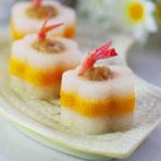 创意菜谱 —— 腰缠金玉环的花式萝卜酿虾球