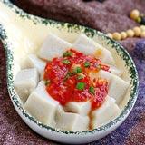 蒜蓉辣酱嫩豆腐 我家餐桌必备主菜