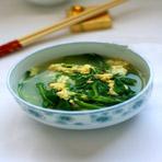 春季食疗美食之菠菜鸡蛋汤