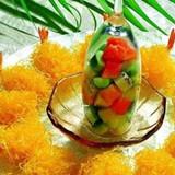 绝美私家菜:酥皮芥味虾球