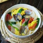 什锦鸡蛋汤——老人的可口面片汤
