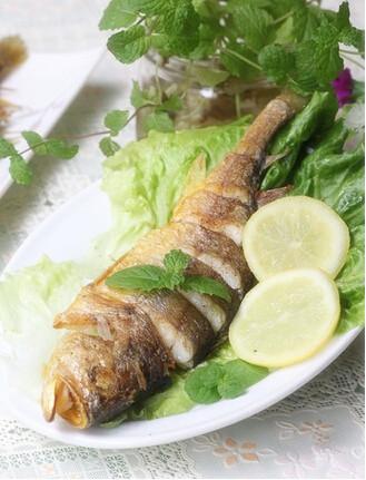 柠香椒盐黄花鱼