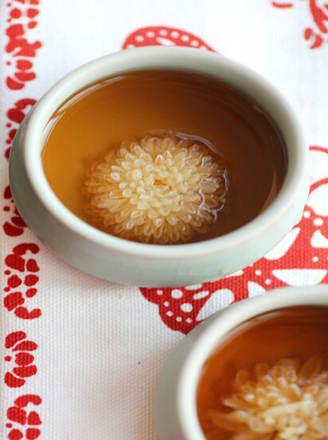 菊花普洱茶的泡法