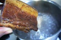 笋干炒熏腊肉