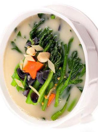 上汤菜心怎么做好吃?上汤菜心做法
