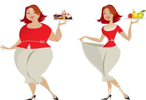 胖子可爱减肥图片