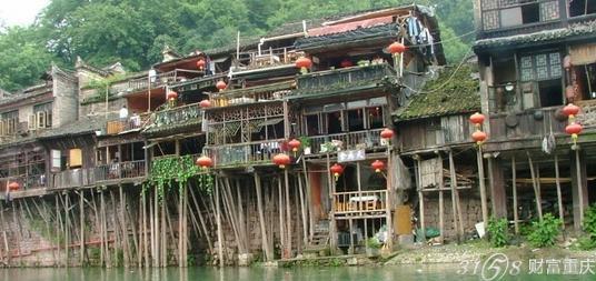 最有特色的重庆建筑——吊脚楼