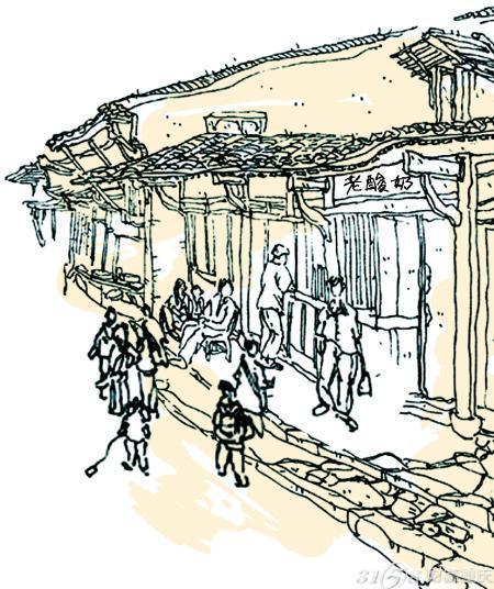 龙门手绘设计图