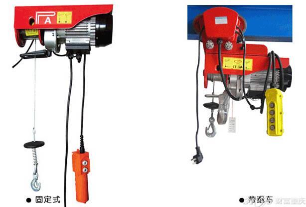 微型电动葫芦在生产设计方面均达到了国际标准,保证了使用的安全性,电机散热片采用铸铁结构,提高了使用寿命。微型电动葫芦提升速度可以达到10米/分,钢丝绳长初设计为12米(加长可定做),在吊钩方面,特别设计了先进的双钩设置,极大的增加了微型电动葫芦的起重重量,微型电动葫芦采用220V民用电源,特别适用于日常民用,工业生产线,货运物流等场合。