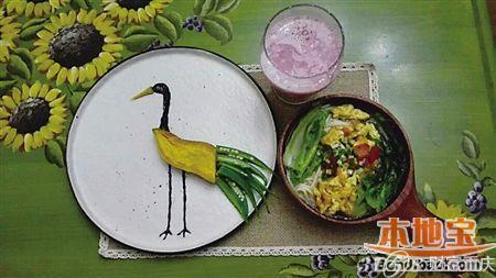 果酱画兰花的画法步骤