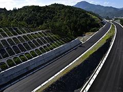 架桥梁掘隧道 长福高速建设紧锣密鼓