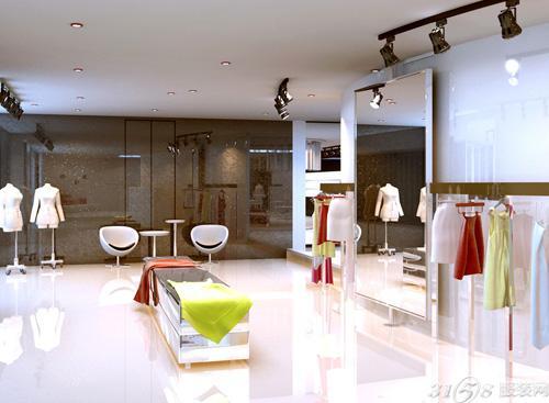 品牌服装店产品展示的几个设计原则图片