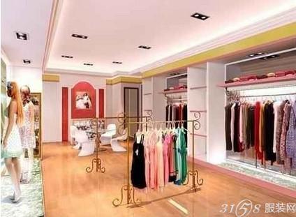 盘点韩国女装店装修效果图