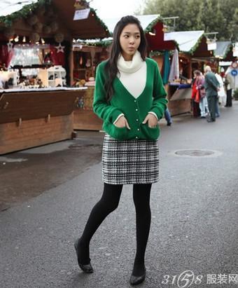 矮个子女生搭配三:鞋子搭配法则