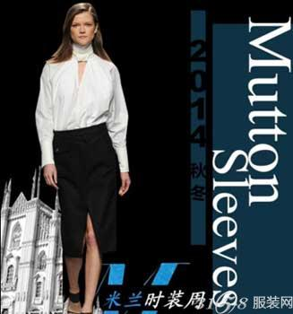 2014秋冬米兰时装周流行趋势分析-3158服装加盟网图片