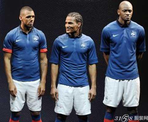 2014年巴西世界杯法国国家队球衣展示