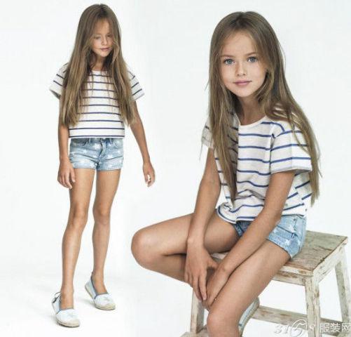 世界上最美丽女孩竟 看那些亮眼的服装