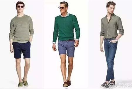 夏季男士穿衣搭配 5种单品让你耳目一新-3158服装