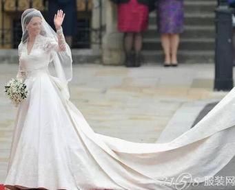 世界最昂贵婚纱 每一款都美呆啦