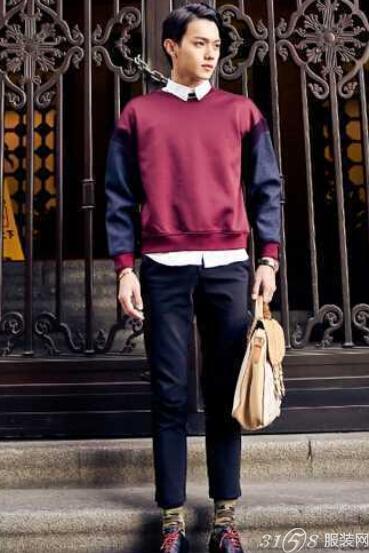 冬季微胖男生穿衣搭配技巧 冬季时尚显瘦型搭
