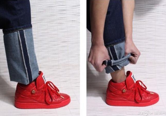 正确穿鞋子步骤图